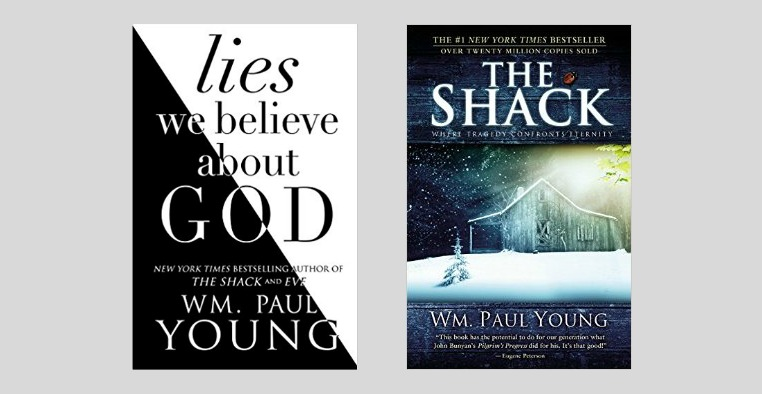 "7 of the ""Lies We Believe About God"" by the author of ""The Shack"""