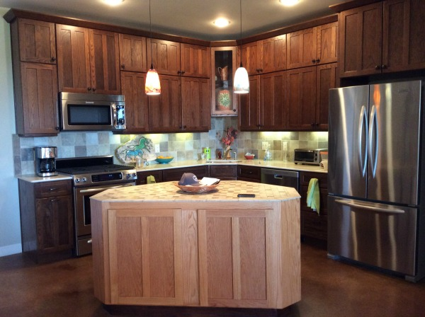 Barndominium kitchen